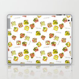 go vegan! Laptop & iPad Skin