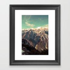 Alpine Magic Framed Art Print