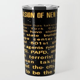 Imperial Occupied NYC Travel Mug