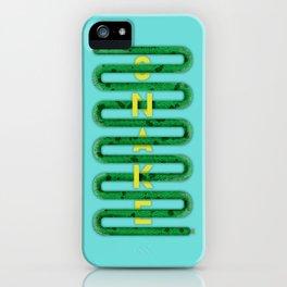 S N A K E iPhone Case
