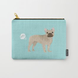 French Bulldog funny fart dog breed gifts frenchie must haves Carry-All Pouch