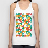 pie Tank Tops featuring Pie in the sky by Picomodi