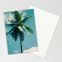 Niu Hawaiian Tropical Coconut Palm Tree Keanae Maui Hawaii Stationery Cards