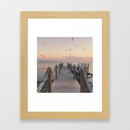 If the Sky Dreamt, It Would Dream of Dragons Framed Art Print