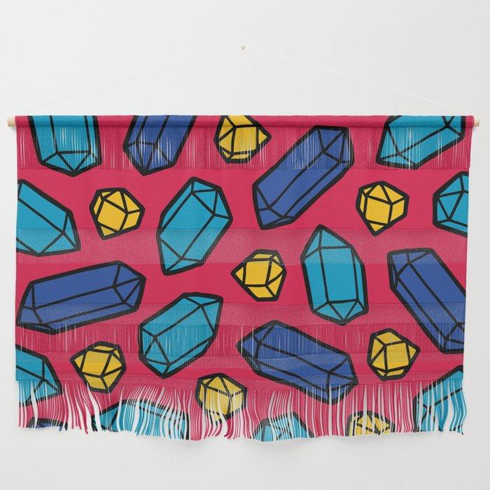 Bright Gems Pattern Wall Hanging