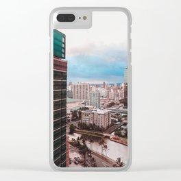 Sky Scraper Clear iPhone Case