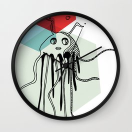 Squiggy Wall Clock