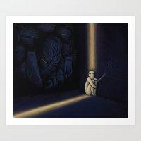 Dark Side Of Me Art Print