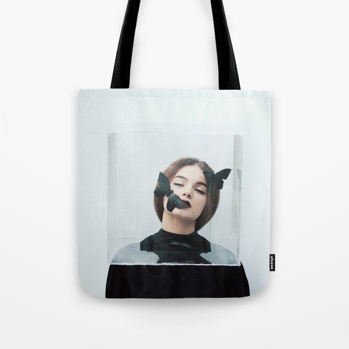Butterfly in a box Tote Bag