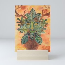 The Guardian of the Forest Mini Art Print
