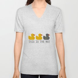 Minnesota Duck Duck Gray Duck - This is the Way Unisex V-Neck