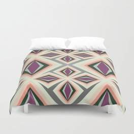 Contemporary Geometric Design Duvet Cover