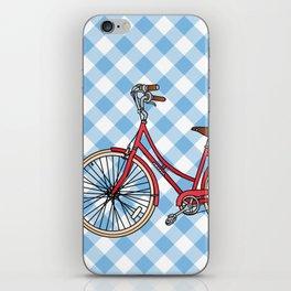 His Bicycle iPhone Skin