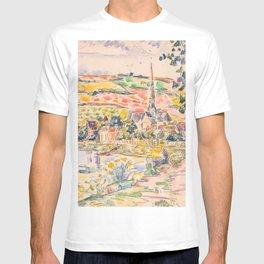 "Paul Signac ""Petit Andely-The River Bank"" T-shirt"