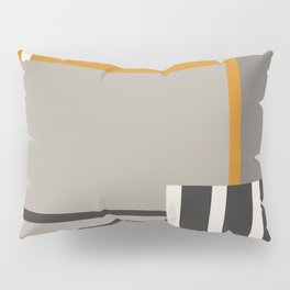 PLUGGED INTO LIFE (abstract geometric) Pillow Sham