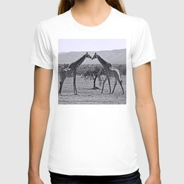 Giraffe talk T-shirt