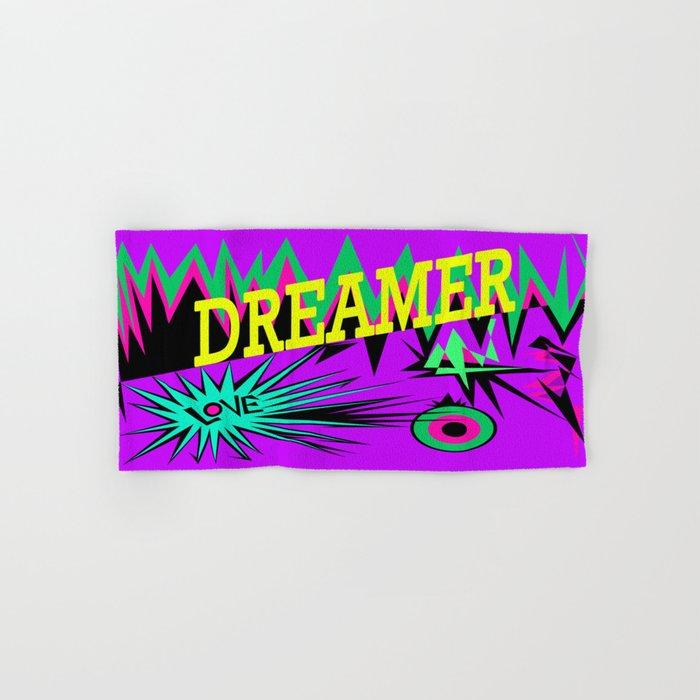 Keep Calm and Dream   Sweet Dreams my Love Hand & Bath Towel