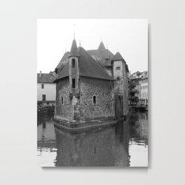 Palais de L'île, Annecy, France Metal Print