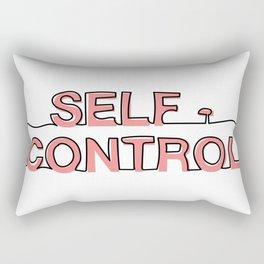 Self - Control Rectangular Pillow