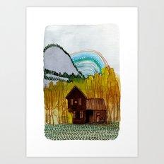 Landscapes / Nr. 3 Art Print