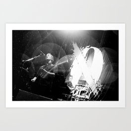 Josh Homme (Queens of the Stone Age) - I Art Print
