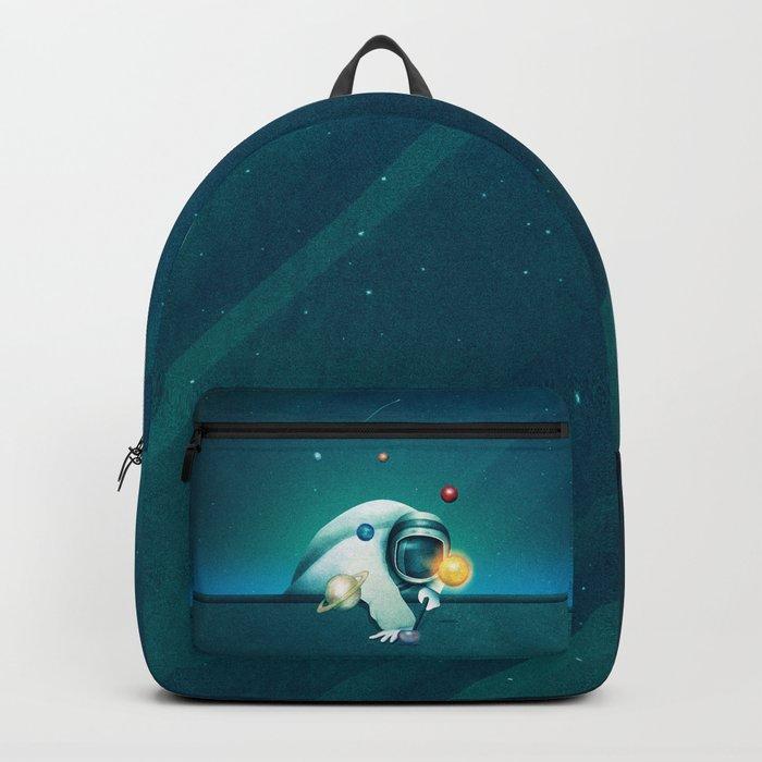 Astronaut Billards Backpack