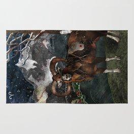 Aries the Ram Rug