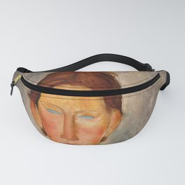"Amedeo Modigliani ""Portrait Of A Student (L'Etudiant)"" Fanny Pack"