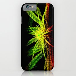 Rasta Plant Glows (The Healing of the Nations) iPhone Case