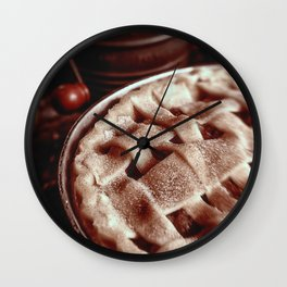 Apple Pie Reday for the Oven Wall Clock