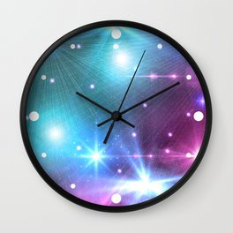 Fantasy Space Glow Wall Clock