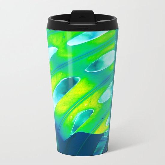 Tropical Exuberance III Metal Travel Mug