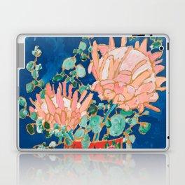 Protea in Enamel Flamingo Tumbler Painting Laptop & iPad Skin
