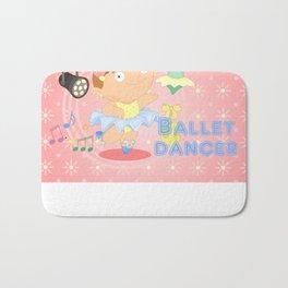 Ballet Dancer Bath Mat