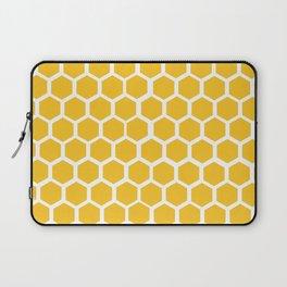 Honey-coloured Honeycombs Laptop Sleeve