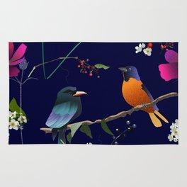 Birds, Berries and Flowers Rug