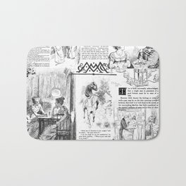 Pride and Prejudice - Pages Bath Mat
