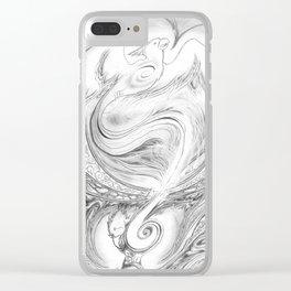 Phoenix Rising Clear iPhone Case
