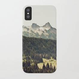 Epic Drive through the Mountains iPhone Case