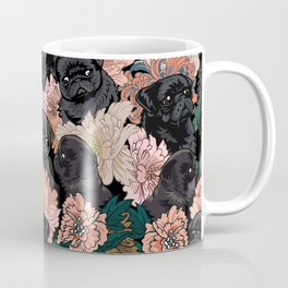 Because Black Pug Coffee Mug