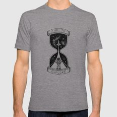 Time to Explore Tri-Grey LARGE Mens Fitted Tee