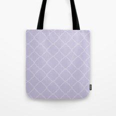 Quatrefoil - Lavender Tote Bag