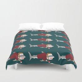 Shark LumberJack Duvet Cover