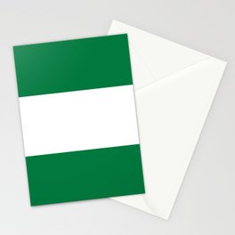 Nigeria country flag Stationery Cards