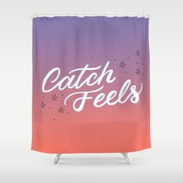 Catch Feels - Sunset Palette Shower Curtain