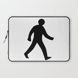 Walking Man Silhouette Laptop Sleeve