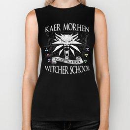 Kaer Morhen Witcher School Biker Tank