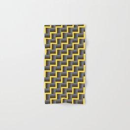 Plus Five Volts - Geometric Repeat Pattern Hand & Bath Towel