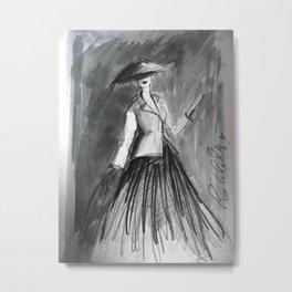 Diors New Look Metal Print