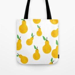 pear yellow Tote Bag